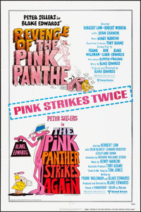 Revenge of the Pink Panther/The Pink Panther Strikes Again Combo & Others Lot (United Artists, 1978). Folded, Very F...