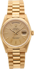 Timepieces:Wristwatch, Rolex Ref. 18238 Oyster Perpetual Day-Date, circa 1990. ...