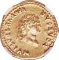 Ancients:Roman Imperial, Ancients: Titus, as Caesar (AD 79-81). AV aureus (20mm, 7.35 gm, 6h). NGC Choice VF 5/5 - 4/5....