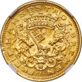 German States:Bremen, German States: Bremen. Free City gold 10 Mark 1907-J MS64 NGC,...