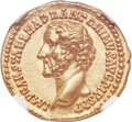 Ancients:Roman Imperial, Ancients: Antoninus Pius (AD 138-161). AV aureus (20mm, 7.23 gm,6h). NGC MS ★ 5/5 - 4/5....