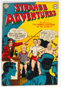 Golden Age (1938-1955):Science Fiction, Strange Adventures #15 (DC, 1951) Condition: FN/VF....