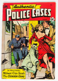 Golden Age (1938-1955):Crime, Authentic Police Cases #10 (St. John, 1950) Condition: FN....