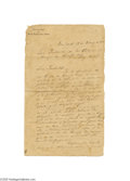 Autographs:Non-American, Important Manifesto-like ALS by 19th Century Cuban RevolutionaryJose Marti...