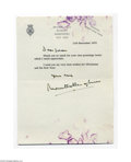 Autographs:Non-American, Lord Mountbatten of Burma...