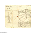 Autographs:Non-American, Superior Content Two-page Autograph Letter Signed of AlexanderPope...