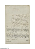 Autographs:Non-American, Queen Victoria 1843 Royal Patent Document Signed...