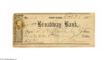 Autographs:Celebrities, Phineas T. Barnum Signed Check...