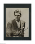 Autographs:Celebrities, Johnny Weissmuller Signed Photograph (1932)...