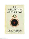 "Books:First Editions, J. R. R. Tolkien - ""The Lord of the Rings,"" Comprising ""TheFellowship of the Ring, ""The ""Two Towers,"" and ""The Return of theKi... (3 )"