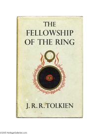 """J. R. R. Tolkien - """"The Lord of the Rings,"""" Comprising """"The Fellowship of the Ring, """"The """"Two T..."""