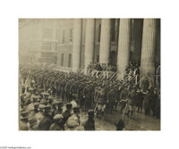 "World War I Photo A unidentified but interesting sepia photograph, measuring 7.5"" x 5.75"", showing an unidenti..."
