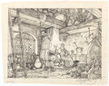 Original Comic Art:Miscellaneous, Greg Hildebrandt Fantasy Drawing Preliminary Original Art(c. 1970s)....