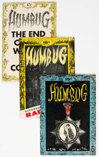 Humbug #1-9 Complete Run Group (Humbug, 1957-58) Condition: Average VG+.... (Total: 9)