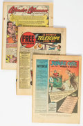 Golden Age (1938-1955):Miscellaneous, Miscellaneous Golden Age Group of 17 (Various, 1940s) Condition: Average PR.... (Total: 17 Comic Books)