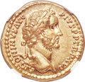 Ancients:Roman Imperial, Ancients: Antoninus Pius (AD 138-161). AV aureus (19mm, 7.31 gm, 5h). NGC AU ★ 5/5 - 4/5....