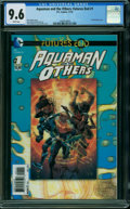 Modern Age (1980-Present):Superhero, Aquaman and the Others: Futures End 1 3-D Cover (DC, 2014) CGC NM+9.6 WHITE pages.