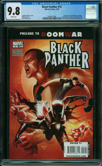Black Panther #12 (Marvel, 2010) CGC NM/MT 9.8 WHITE pages