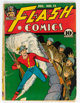 Flash Comics #12 (DC, 1940) Condition: Incomplete