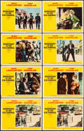 """Movie Posters:Western, Gunfight at the O.K. Corral (Paramount, 1957). Very Fine-. Lobby Cards (8) 8 (11"""" X 14""""). Western.. ... (Total: 8 Items)"""