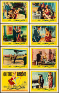 """Movie Posters:Foreign, La Parisienne (United Artists, 1958). Very Fine-. Lobby Card Set of 8 (11"""" X 14""""). Foreign.. ... (Total: 8 Items)"""
