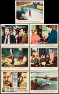 """Movie Posters:Thriller, The Wreck of the Mary Deare (MGM, 1959). Fine/Very Fine. Title Lobby Cards (2) & Lobby Cards (9) (11"""" X 14""""). Thriller.. ... (Total: 11 Items)"""