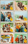 "Movie Posters:Western, Bells of Coronado (Republic, 1950). Very Fine+. Signed Lobby CardSet of 8 (11"" X 14""). Western.. ... (Total: 8 Items)"