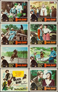 """Movie Posters:Western, Black Bart & Other Lot (Universal International, 1947). Very Fine-. Lobby Card Sets of 8 (2 Sets) (11"""" X 14""""). Western.. ... (Total: 16 Items)"""