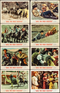 """Ride the High Country (MGM, 1962). Very Fine-. Lobby Card Set of 8 (11"""" X 14""""). Western. ... (Total: 8 Items)"""