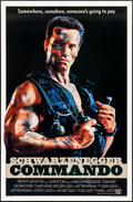 "Movie Posters:Action, Commando (20th Century Fox, 1985). Rolled, Very Fine. One Sheet (27"" X 41""). Action.. ..."