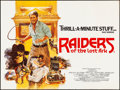 """Movie Posters:Adventure, Raiders of the Lost Ark (Paramount, 1981). Rolled, Very Fine. British Quad (30"""" X 40""""). Brian Bysouth Artwork. Adventure.. ..."""