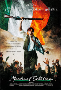 """Michael Collins & Other Lot (Warner Brothers, 1996). Rolled, Very Fine. One Sheets (2) (Approx. 27"""" X 40&qu..."""