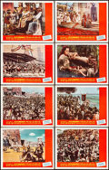 """Movie Posters:Drama, The Ten Commandments (Paramount, R-1966). Very Fine. Lobby Card Set of 8 (11"""" X 14""""). Drama.. ... (Total: 8 Items)"""