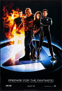 """Fantastic Four & Other Lot (20th Century Fox, 2005). Rolled, Very Fine. One Sheets (2) (27"""" X 40"""") DS..."""