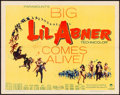 "Movie Posters:Musical, Li'l Abner (Paramount, 1959). Folded, Very Fine-. Half Sheet (22"" X 28"") & Lobby Card Set of 8 (11"" X 14""). Musical.. ... (Total: 9 Items)"
