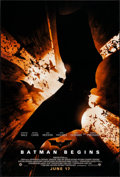 """Movie Posters:Action, Batman Begins (Warner Brothers, 2005). Rolled, Very Fine+. One Sheet (27"""" X 40"""") DS Advance. Action.. ..."""
