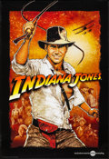 "Movie Posters:Adventure, Indiana Jones (Paramount, R-2012). Rolled, Very Fine. One Sheet (27"" X 39.5"") AMC Special Poster, Richard Amsel Artwork. Adv..."