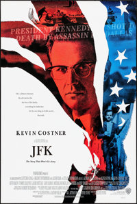 "JFK & Others Lot (Warner Brothers, 1991). Rolled, Very Fine. One Sheets (3) (26.75"" X 39.75"", 27"" X 4..."