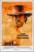 "Movie Posters:Musical, Pale Rider (Warner Brothers, 1985). Rolled, Very Fine+. One Sheet (27"" X 41""). C. Michael Dudash Artwork. Western...."
