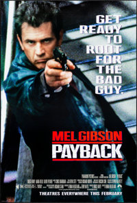"""Payback & Others Lot (Paramount, 1999). Rolled, Very Fine+. One Sheets (3) (26.75"""" X 39.75"""" & 27""""..."""