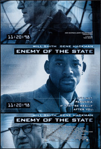 "Enemy of the State & Others Lot (Buena Vista, 1998). Rolled, Very Fine+. One Sheets (3) (27"" X 40"") DS..."