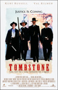 "Movie Posters:Musical, Tombstone (Buena Vista, 1993). Rolled, Very Fine-. One Sheet (27"" X 40"") DS. Western...."