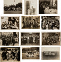 Baseball Collectibles:Photos, 1931 Tour of Japan Original Photographs Lot of 12, PSA/DNA Type 1 from The Lou Gehrig Collection....