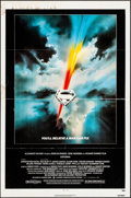 "Movie Posters:Action, Superman the Movie (Warner Brothers, 1978). Folded, Fine. One Sheet (27"" X 41""). Bob Peak Artwork. Action.. ..."