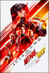 """Ant-Man and the Wasp (Walt Disney Studios, 2018). Rolled, Very Fine. One Sheet (27"""" X 40"""") DS Advance. Action..."""