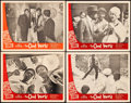 """Movie Posters:Crime, The Cool World (Cinema 5, 1964). Fine/Very Fine. Lobby Card Set of 4 (11"""" X 14""""). Crime.. ... (Total: 4 Items)"""
