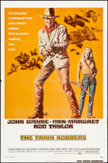 """Movie Posters:Western, The Train Robbers (Warner Brothers, 1973). Folded, Fine/Very Fine One Sheet (27"""" X 41""""). Western.. ..."""