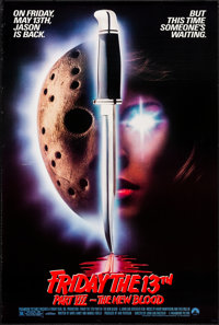 Friday the 13th Part VII: The New Blood & Other Lot (Paramount, 1988). Rolled & Folded, Very Fine-. One Sheets (...