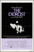 "Movie Posters:Horror, The Exorcist (Warner Brothers, 1974). Folded, Very Fine-. One Sheet (27"" X 41""). Horror.. ..."