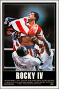 """Movie Posters:Sports, Rocky IV (MGM/UA, 1985). Rolled, Very Fine-. One Sheet (27"""" X 41""""). Sports.. ..."""